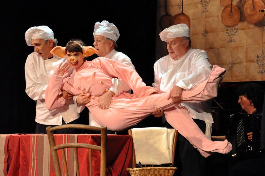 Opera Bouffe - LE BAL DES COUVERTS 2 - La Marmite à Malices